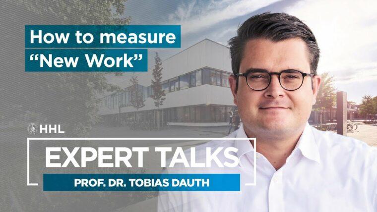 HHL Expert Talk New Work mit Professor Tobias Dauth
