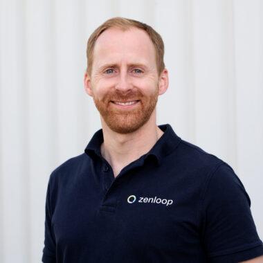 zenloop co-founder Paul Schwarzenholz