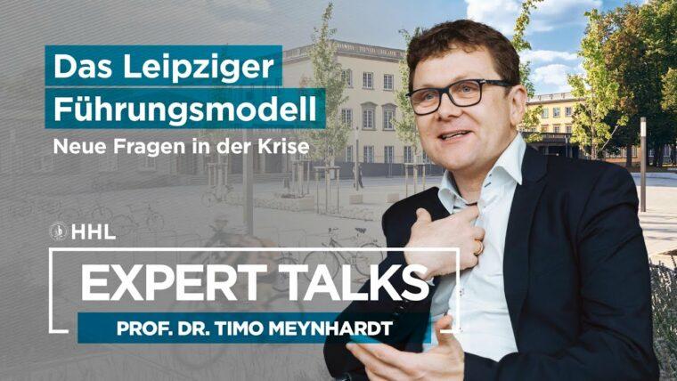 HHL Expert Talk Timo Meynhardt Leipzig Führungsmodell