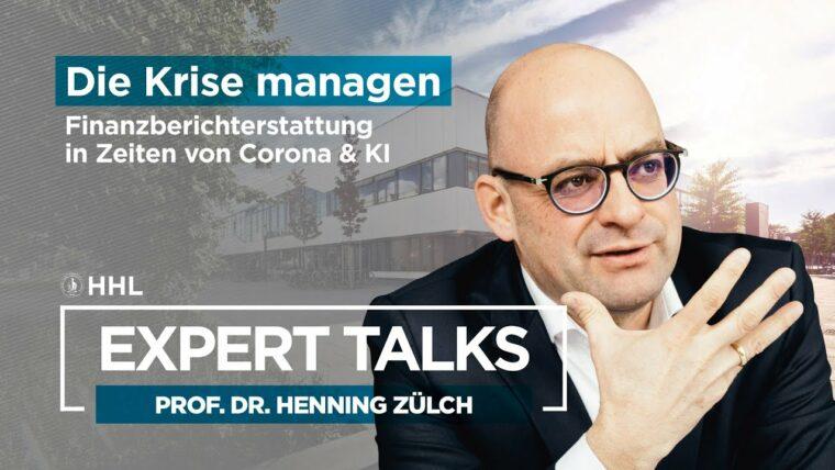 HHL Expert Talk mit Professor Zülch