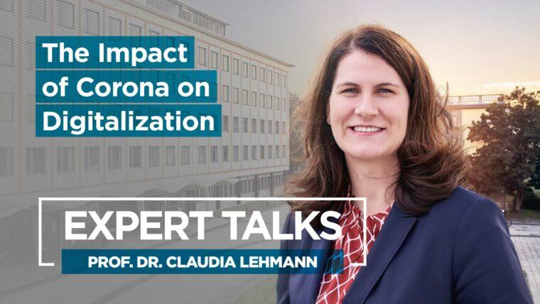 HHL Expert Talk Claudia Lehmann Corona Digitalization