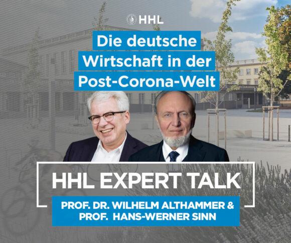 Expert Talk mit Hand-Werner Sinn im Interview
