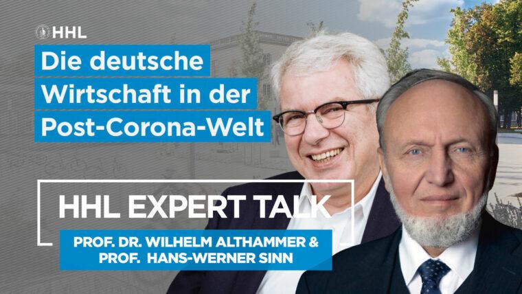 Expert Talk mit Hand-Werner Sinn
