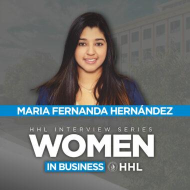 HHL Ft MBA Alumna Maria Fernanda Hernandez