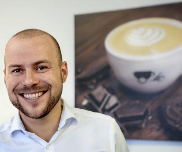 Porträt über Jungunternehmer Tobias Zimmer (Coffe Bike Und Mychoco)