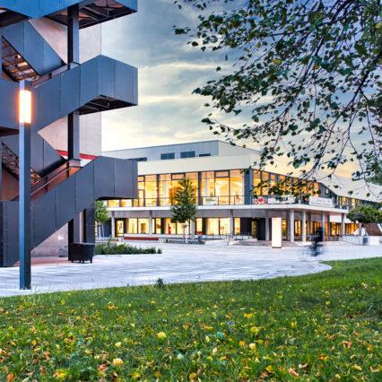 HHL Leipzig Campus Court Yard